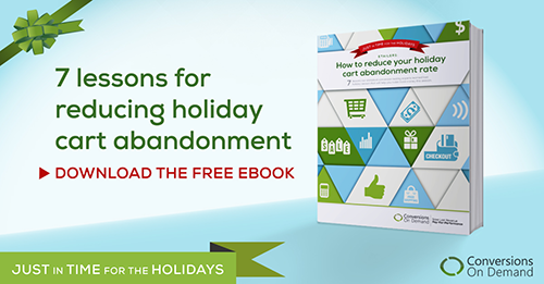 Download our holiday cart abandonment eBook