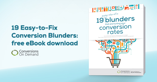 New eBook identifies 19 easy-to-fix conversion blunders