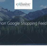 Google Shopping Feed Errors