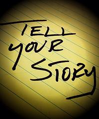 story write photo