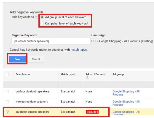 Google Shopping Keyword Bidding 7