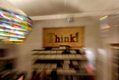 think photo