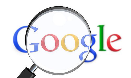 google magnifying photo