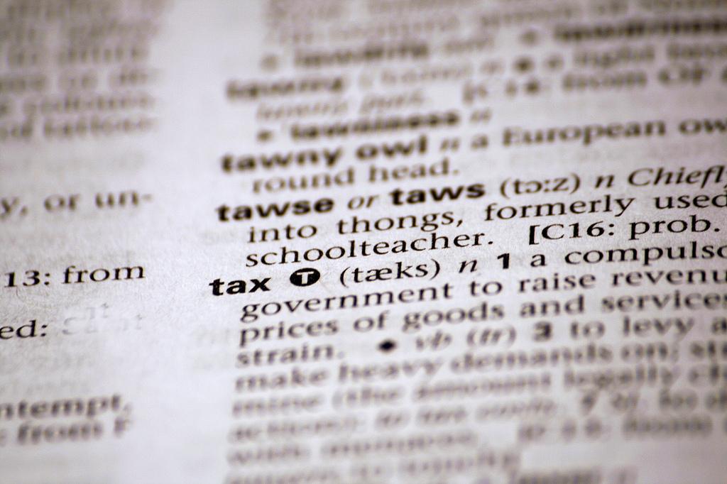 tax photo