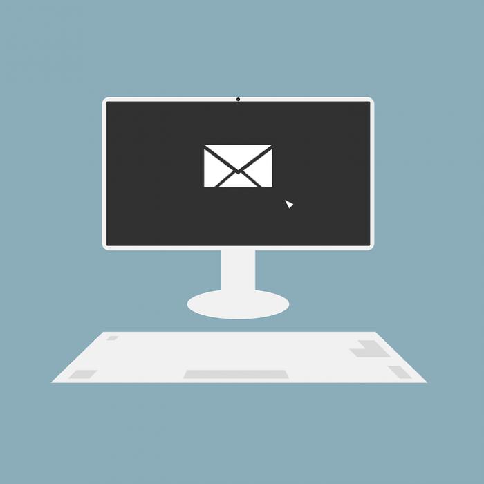 New email alert on desktop