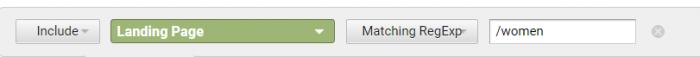 Google analytics check category screenshot