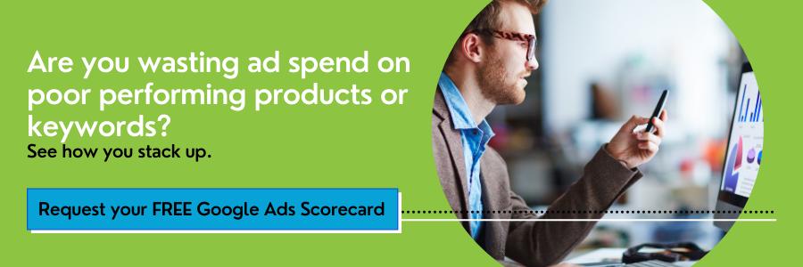 Google Ads Scorecard Banner
