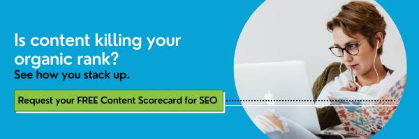 SEO Content Scorecard